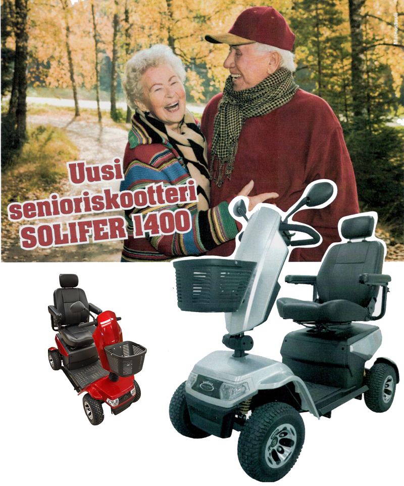 Solifer senioriskootterit
